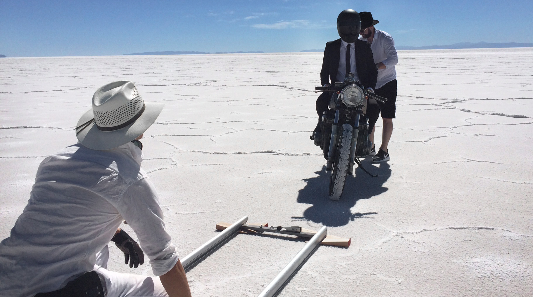 Hallenstein Brothers | Men's Clothing Production Salt Flats Utah 2